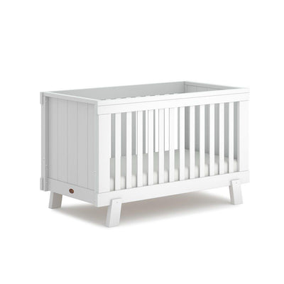 Boori Lucia Urbane Cot Bed - Barley White-Cot Beds- Natural Baby Shower