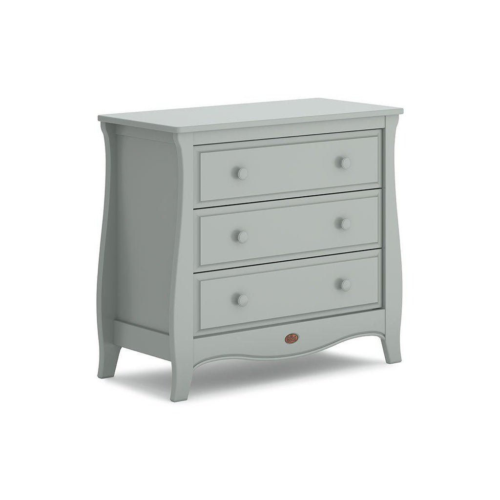 Urbane by Boori Sleigh 3 Drawer Chest - Pebble-Dressers & Chests- Natural Baby Shower