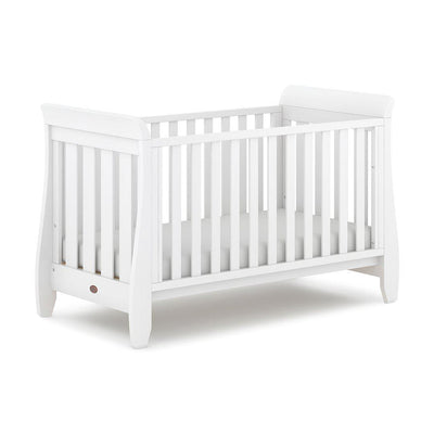 Boori Sleigh Urbane Cot Bed - Barley White-Cot Beds- Natural Baby Shower
