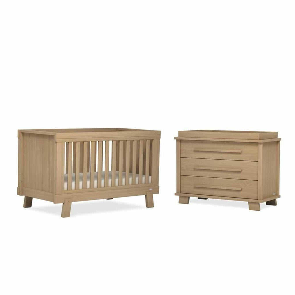 Urbane By Boori Lucia 2 Piece Nursery Set in Almond