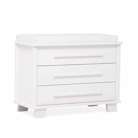 Urbane By Boori Lucia 3 Drawer Dresser in White