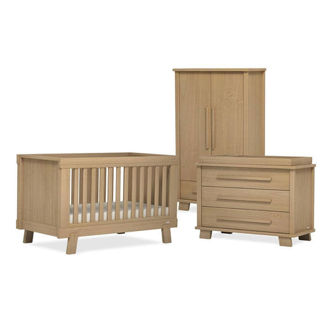 Urbane By Boori Lucia 3 Piece Nursery Set in Almond