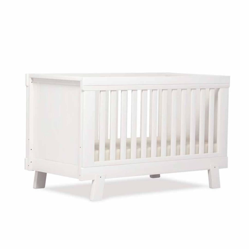 Urbane By Boori Lucia 2 Piece Nursery Set - White Cot Bed