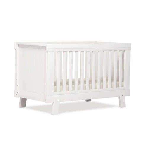 Urbane By Boori Lucia Convertible Plus Cot Bed - White - Cot Beds - Natural Baby Shower