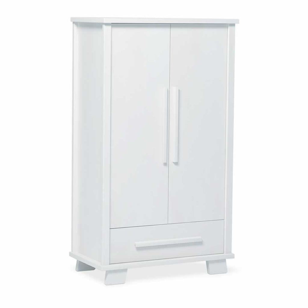 Urbane By Boori Lucia Wardrobe - White - Wardrobes - Natural Baby Shower