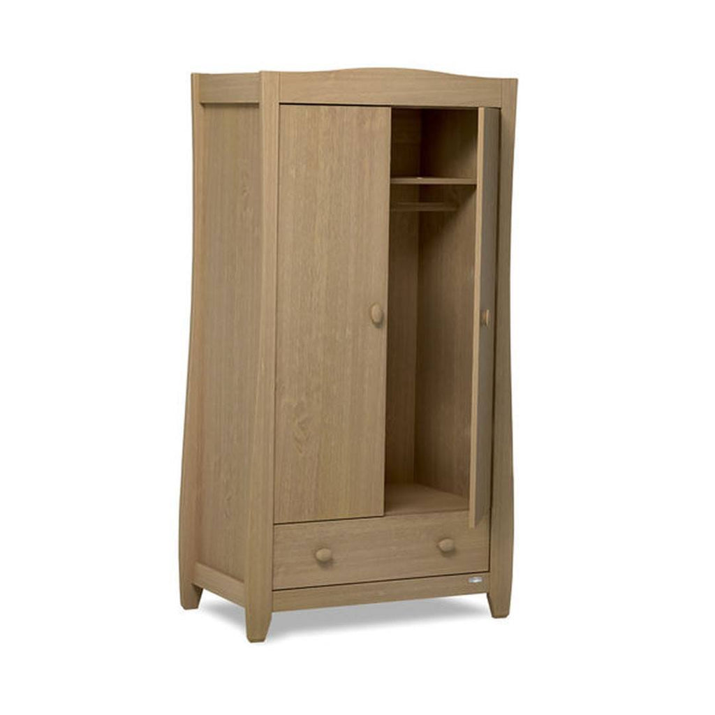 Urbane by Boori Sleigh Wardrobe in Almond