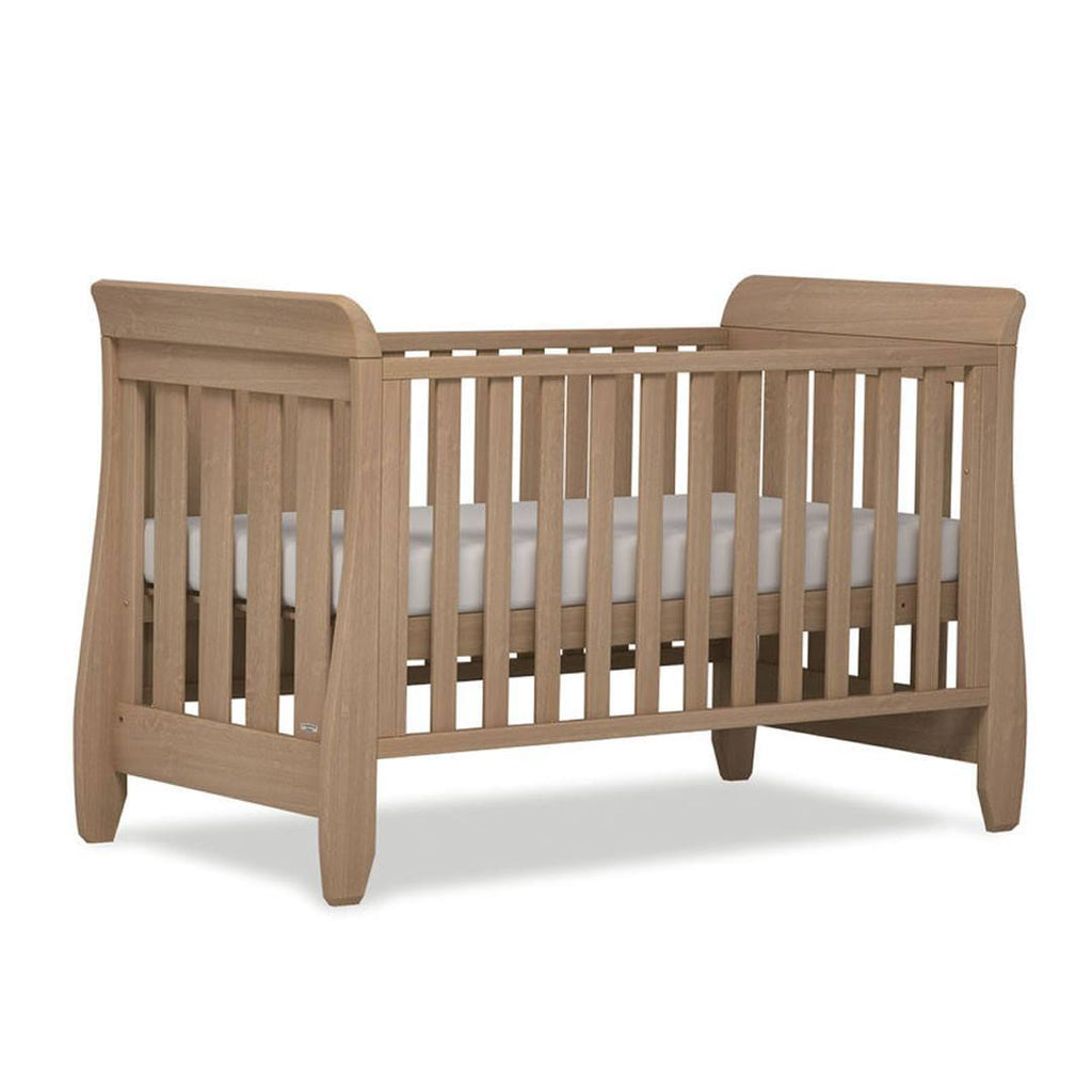 Urbane by Boori Sleigh Cot Bed Almond