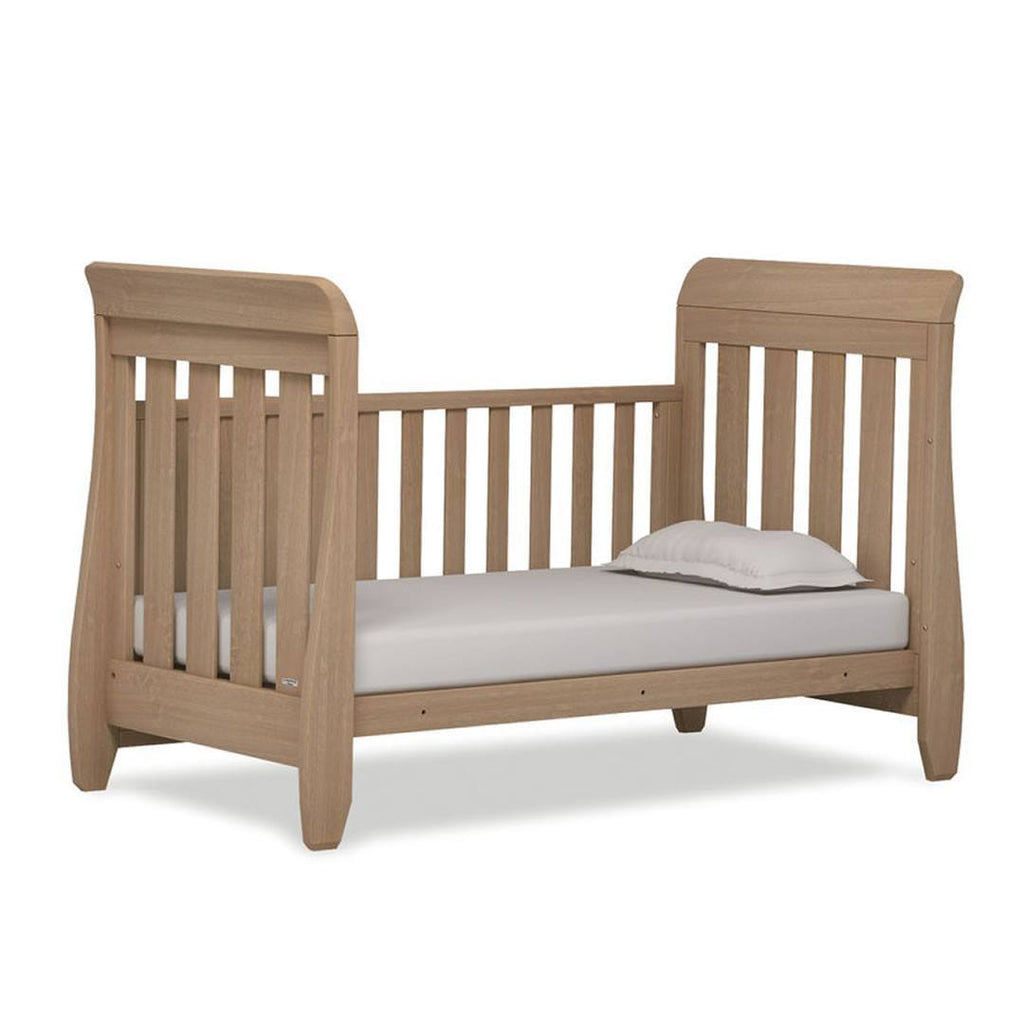 Urbane by Boori Almond Sleigh Cot Bed