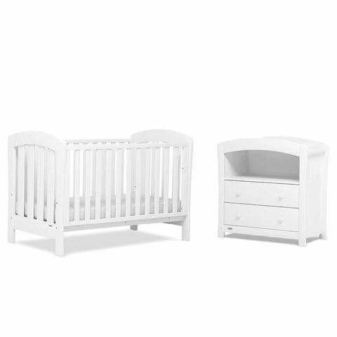 Urbane by Boori Sunshine 2 Piece Nursery Set White