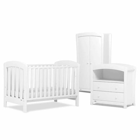 Urbane by Boori Sunshine 3 Piece Nursery Set White