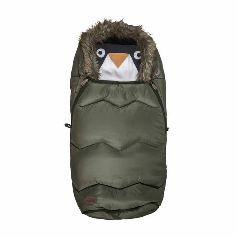 Voksi Urban Fur Footmuff - Olive Green - Footmuffs - Natural Baby Shower
