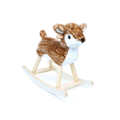 A Little Bird Told Me - Willow Rocking Deer - 9m+-Ride-on & Rockers- Natural Baby Shower