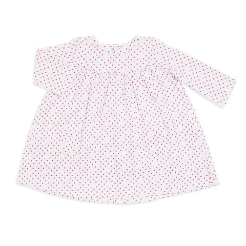 aden + anais Long Sleeve Pocket Dress - Bead Dot Front