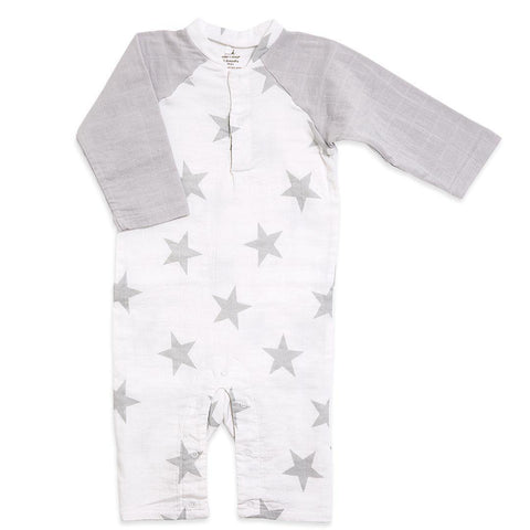 aden + anais Henley One-Piece - Micro Chip Star