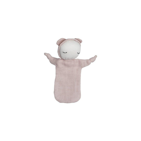 Fabelab Cuddle Doll - Mauve-Comforters- Natural Baby Shower