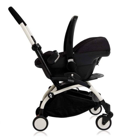 Babyzen YoYo Plus Complete Stroller White with Peppermint 6+ Car Seat