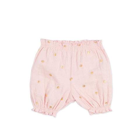 aden + anais Bubble Shorts Metallic Primrose Water Dot
