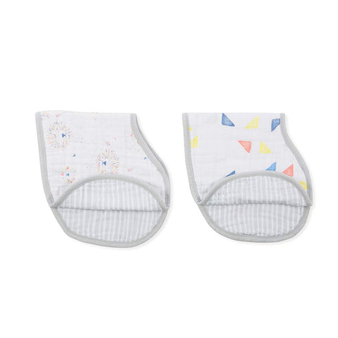 aden + anais Burpy Bibs - Leader of the Pack - 2 Pack-Bibs-Leader of the Pack- Natural Baby Shower