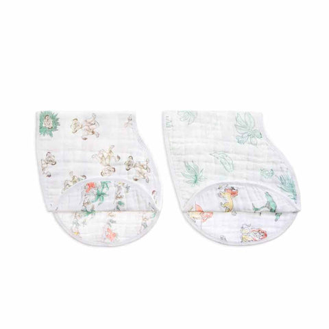 aden + anais Burpy Bibs - Lion King - 2 Pack