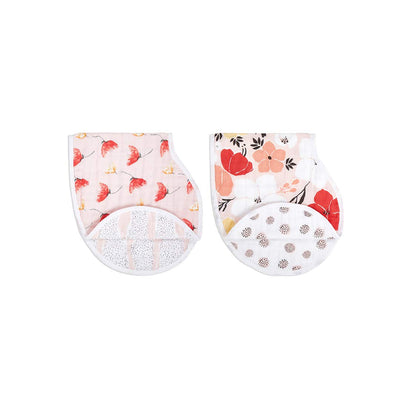 aden + anais Burpy Bibs - Picked for You - 2 Pack-Bibs- Natural Baby Shower