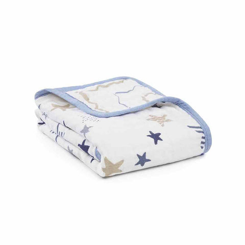 aden + anais Classic Buggy Blanket - Rock Star-Blankets- Natural Baby Shower