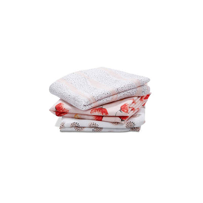 aden + anais Classic Musy - Picked for You - 3 Pack-Muslin Squares- Natural Baby Shower