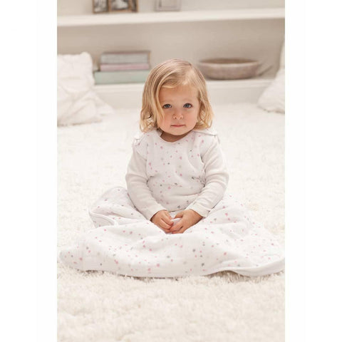 aden + anais Cozy Plus Sleeping Bag TOG 2.5 - Lovely - Starburst-Sleeping Bags- Natural Baby Shower