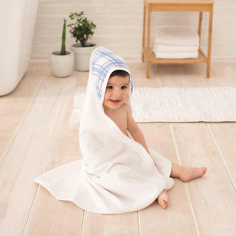 aden + anais Essentials Hooded Baby Towel - Friendly Forest-Towels & Robes-Friendly Forest-One Size- Natural Baby Shower