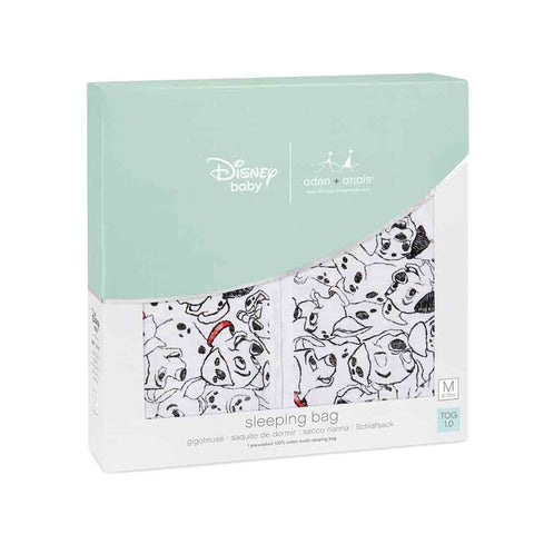 aden + anais Light Sleeping Bag - 101 Dalmatians 1