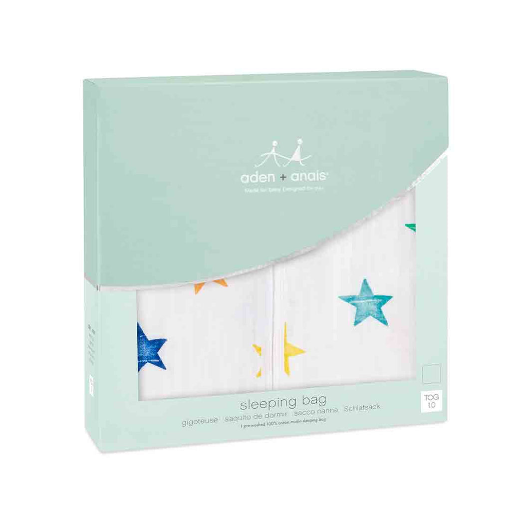 aden + anais Classic Sleeping Bag TOG 1 - Colour Pop-Sleeping Bags- Natural Baby Shower
