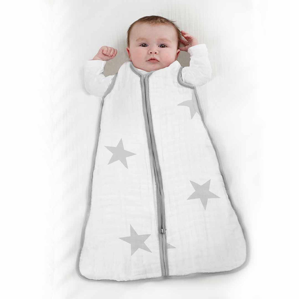 aden + anais Multi-Layer Sleeping Bag TOG 1.7 - Twinkle-Sleeping Bags- Natural Baby Shower