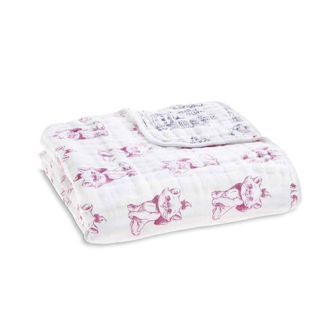 aden + anais Muslin Dream Blanket - Aristocats-Blankets-Aristocats- Natural Baby Shower