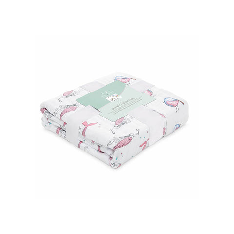 aden + anais Muslin Dream Blanket - Benita Bird-Blankets-Benita Bird- Natural Baby Shower