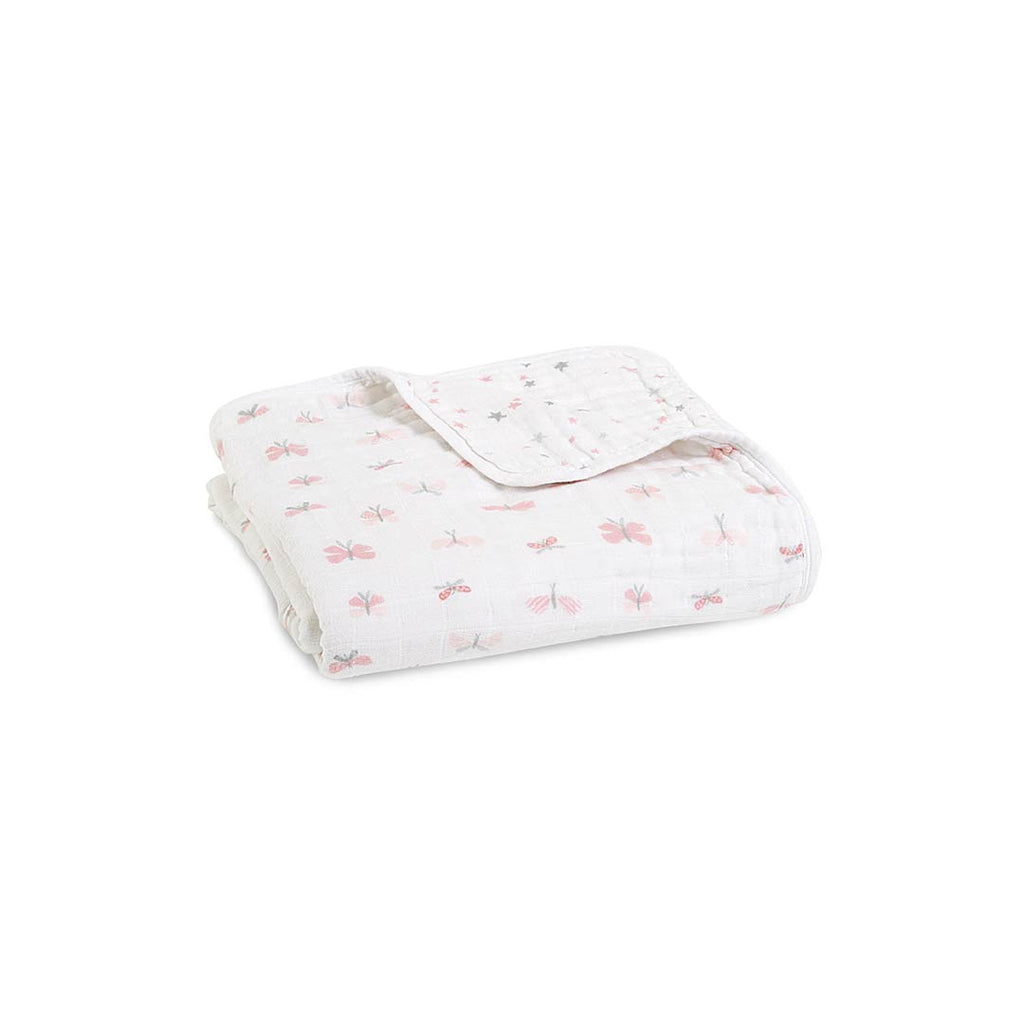 aden + anais Muslin Dream Blanket - Lovely Reverie-Blankets-Lovely Reverie- Natural Baby Shower