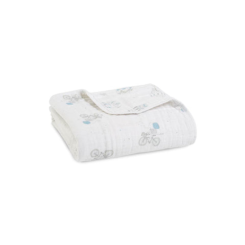 aden + anais Muslin Dream Blanket - Night Sky Reverie-Blankets-Night Sky Reverie- Natural Baby Shower
