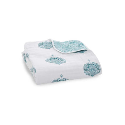 aden + anais Muslin Dream Blanket - Paisley-Blankets- Natural Baby Shower