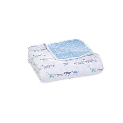 aden + anais Muslin Dream Blanket - Rising Star-Blankets-Rising Star- Natural Baby Shower