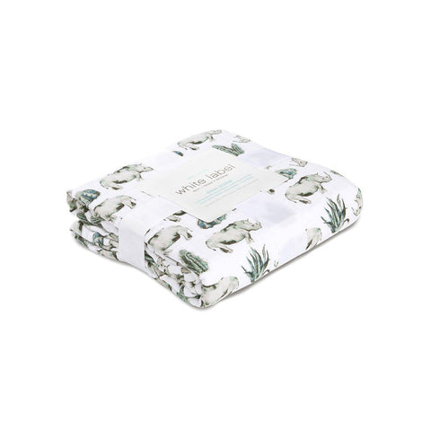 aden + anais Muslin Dream Blanket - Serengeti-Blankets-Serengeti- Natural Baby Shower