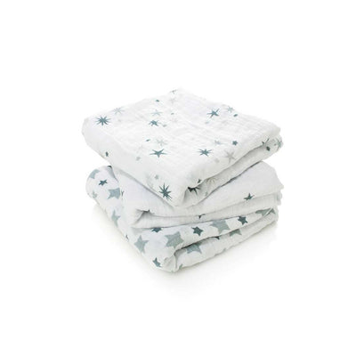 aden + anais Musy - Twinkle - 3 Pack-Muslin Squares-Twinkle- Natural Baby Shower