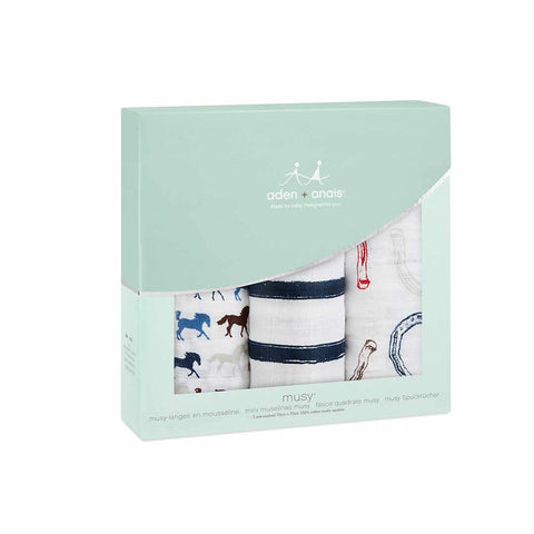 aden + anais Musy - Wild Horses - 3 Pack Box