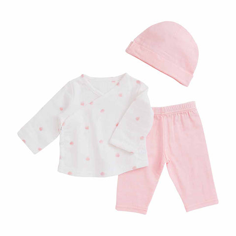 aden + anais Newborn Set Rose Water Dot