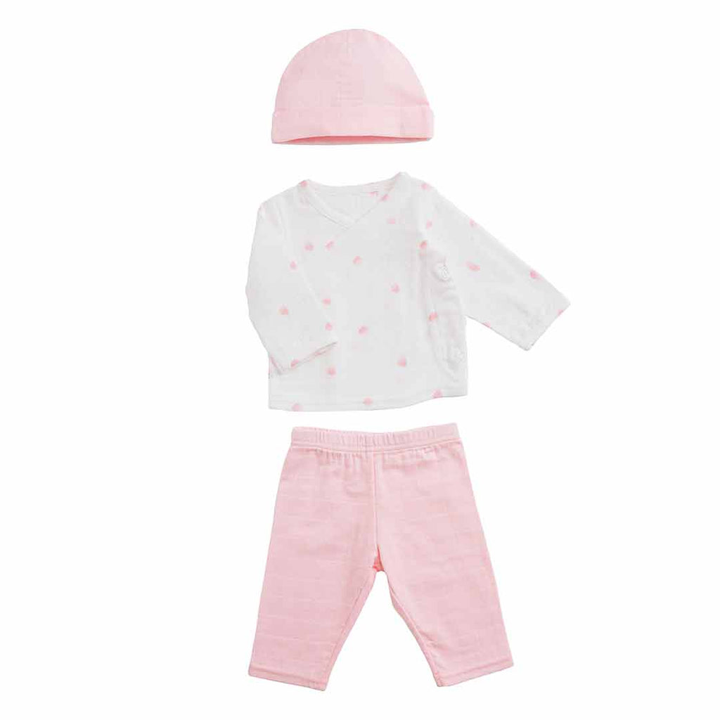 aden + anais Newborn Set - Rose Water Dot