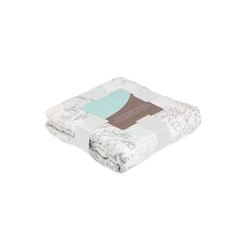 aden + anais Silky Soft Dream Blanket - Metallic Skylight Birch