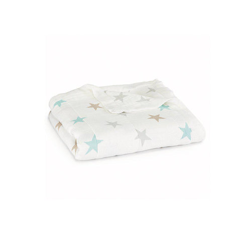 aden + anais Silky Soft Dream Blanket - Milky Way-Blankets-Milky Way- Natural Baby Shower