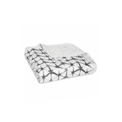 aden + anais Silky Soft Dream Blanket - Pebble Shibori