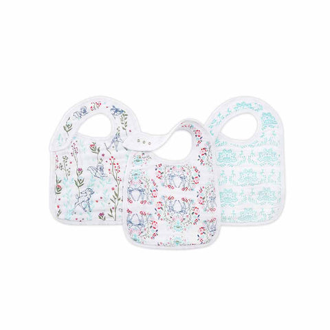 aden + anais Snap Bibs - Bambi - 3 Pack-Bibs-Bambi- Natural Baby Shower