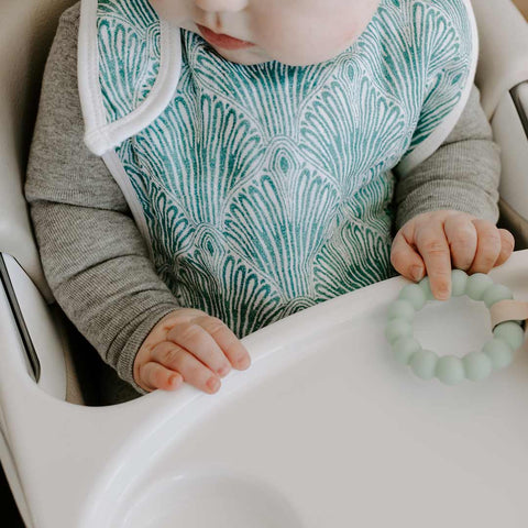 aden + anais Snap Bibs - Paisley - 3 Pack-Bibs- Natural Baby Shower