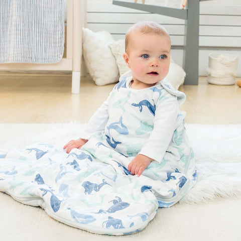 aden + anais Winter Sleeping Bag - Seafaring-Sleeping Bags- Natural Baby Shower