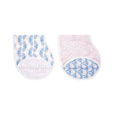 aden + anais Burpy Bibs - Deco - 2 Pack-Bibs-Deco- Natural Baby Shower