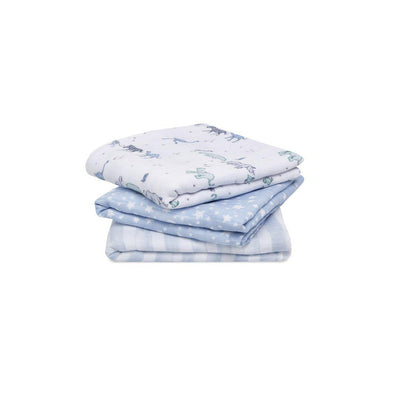 aden + anais Musy - Rising Star - 3 Pack-Muslin Squares-Rising Star- Natural Baby Shower